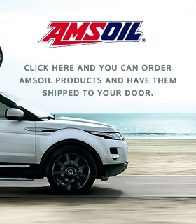 CLICK HERE AND YOU CAN ORDER AMSOIL PRODUCTS AND HAVE THEM SHIPPED TO YOUR DOOR.